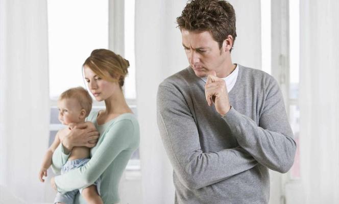 Ссора после рождения ребенка