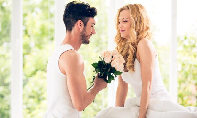 Супруги мирятся