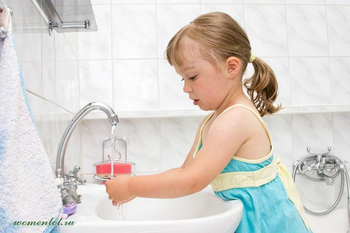 Полезные привычки: зачем мыть руки
