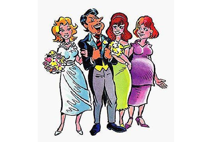 Второй брак мужчины