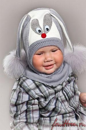 Выбираем зимнюю детскую шапку