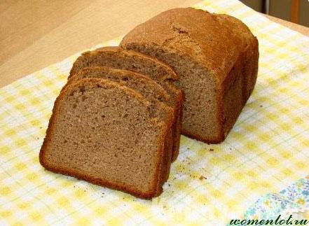 Хлебопечка ржаной хлеб
