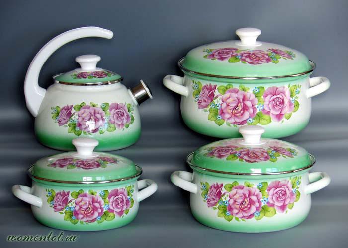 Эмалированная столова посуда