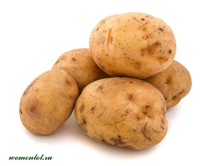 Свежеотжатый сок из картофеля