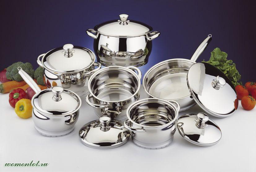 Столова посуда из нержавеющей стали