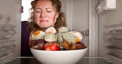 Неприятный запах с холодильника