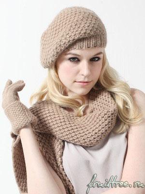 Подбираем шапку, шарф и рукавицы