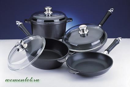 Тефлоновая столова посуда