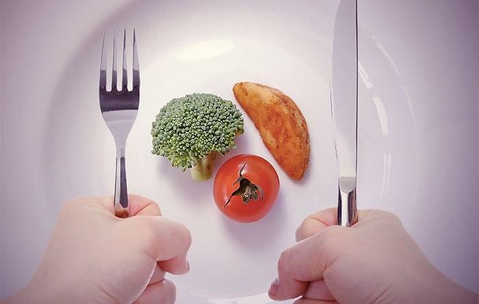 Чтобы меньше есть