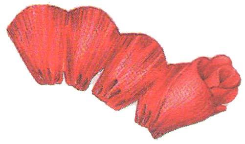 Бумажные цветы малютки фото 2