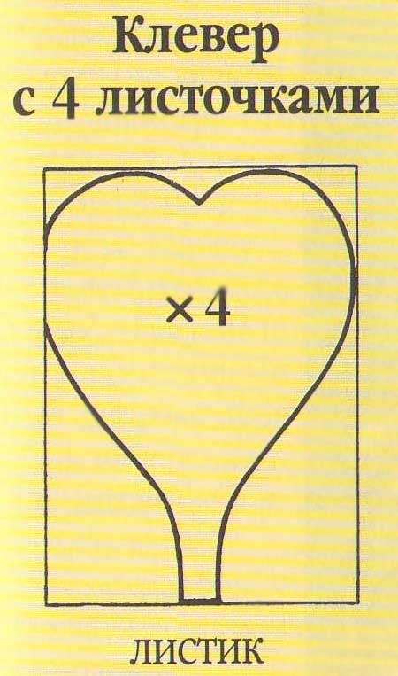 Клевер с четырьмя листочками - дополнение