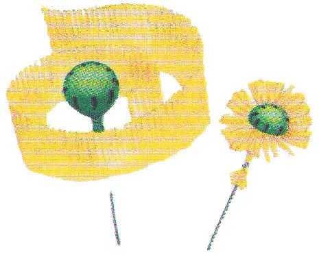 Цветы из бумаги маки фото 2