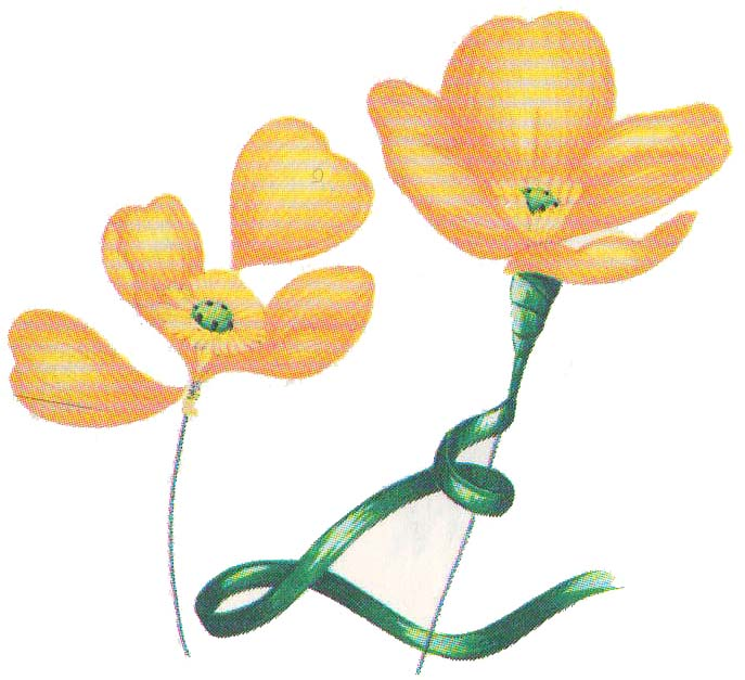 Цветы из бумаги маки фото 3