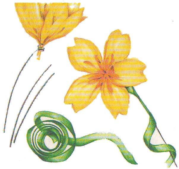 Цветы из бумаги Примулы фото 2