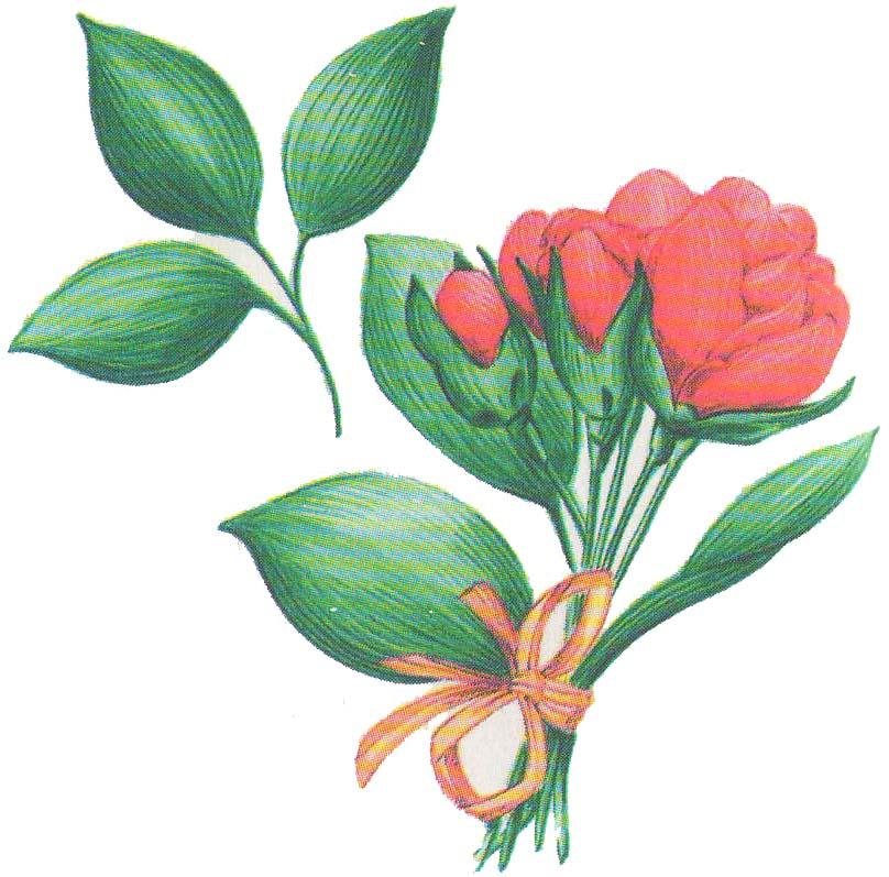Цветы из бумаги: бутоны роз фото 5