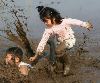 Дети грязнули