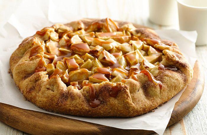 Блюда с яблоками