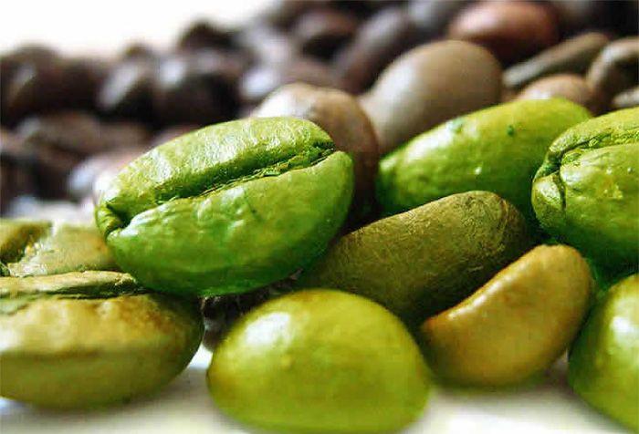 Как выглядит зеленый кофе