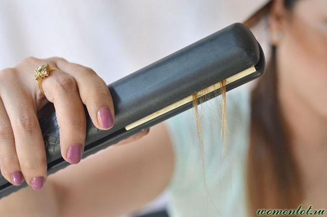 Утюжок для выпрямления волос