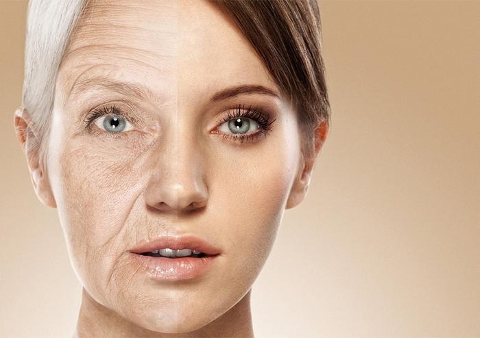 Как стареет кожа